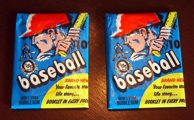 Packgeek Rip 16 2 1971 O Pee Chee Baseball Vintage Wax