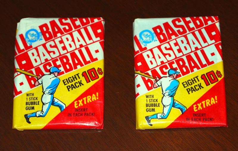 Vintage Baseball Cards Packgeek
